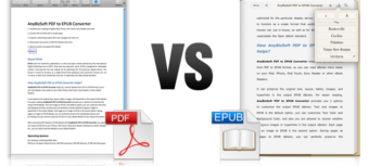 EPub Versus PDF – Who will Win The Race?