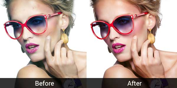 Sample of Photo Retouching