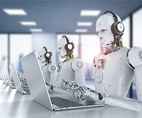 Managing data entry with RPA and AI-based technologies