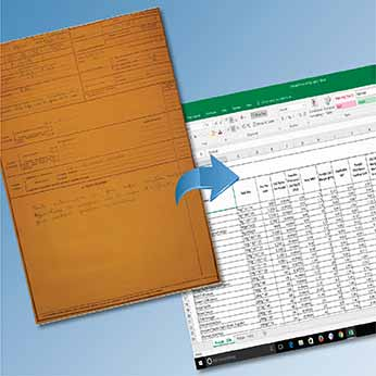 Document Data Entry of Handwritten Scanned Images for a University in UK