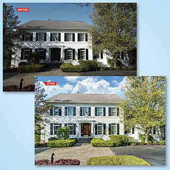 Retouch real estate images to be published on MLS, Realtor.com, etc.