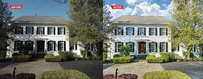 HDR editing of real estate images to be distributed on Internet and MLS