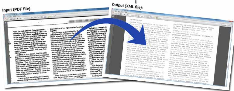 PDF to XML Conversion for a Finance Firm in USA