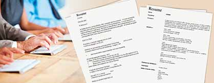 Resume Formatting Solutions for a Recruitment Agency