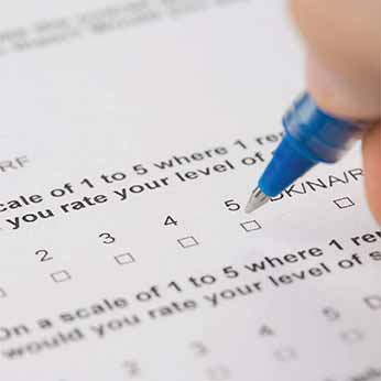 Survey Forms Imaging and Data Entry in a Centralized System of Client