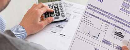 Utility Bills Invoice Data Entry into Web Based Application